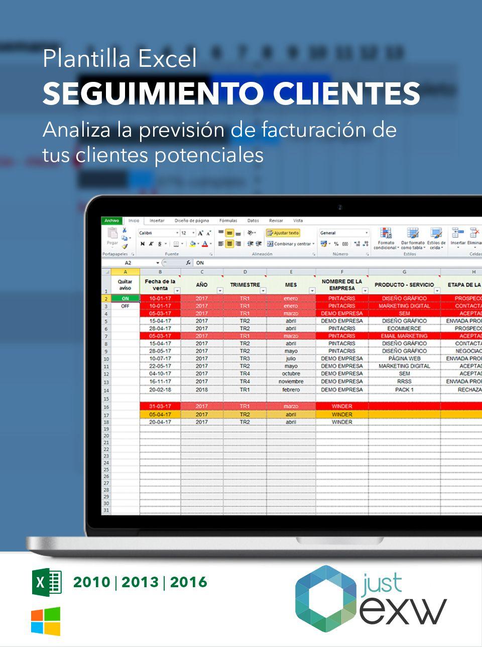 Excel gestión de clientes