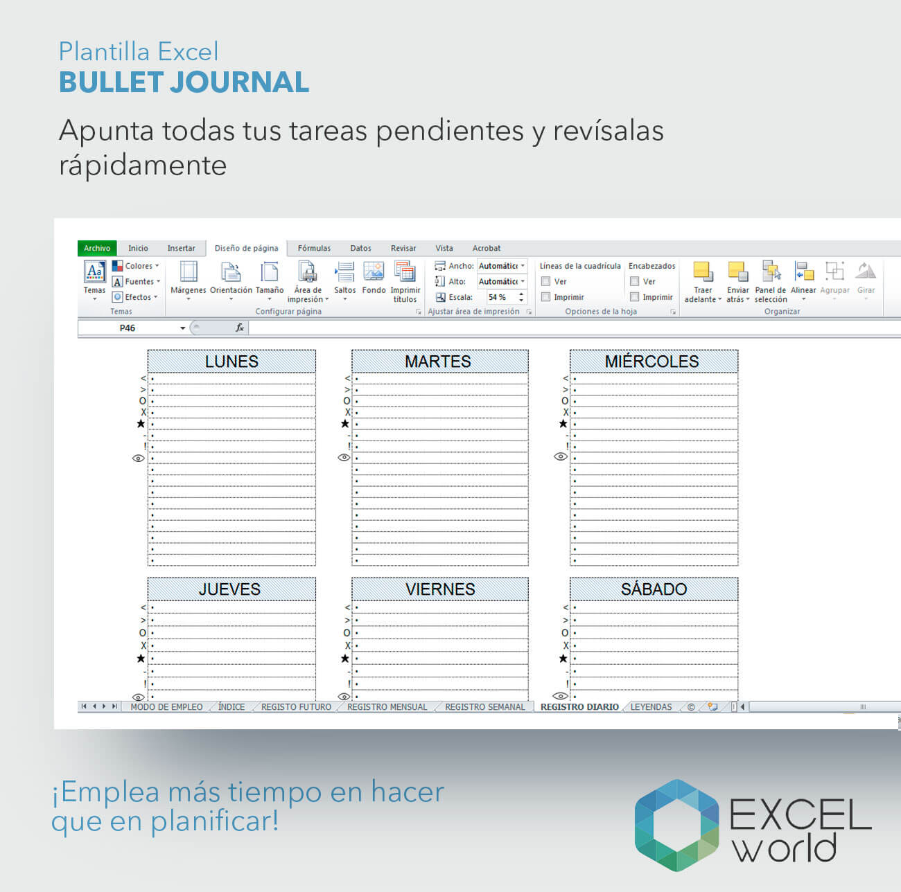 plantilla-excelworld-bullet-journal-2 | Just EXW