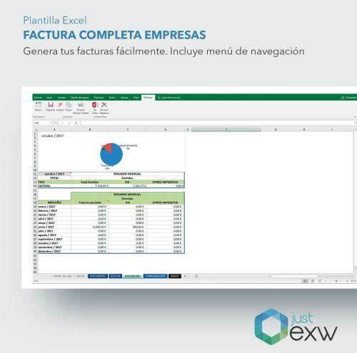 Factura completa en Excel