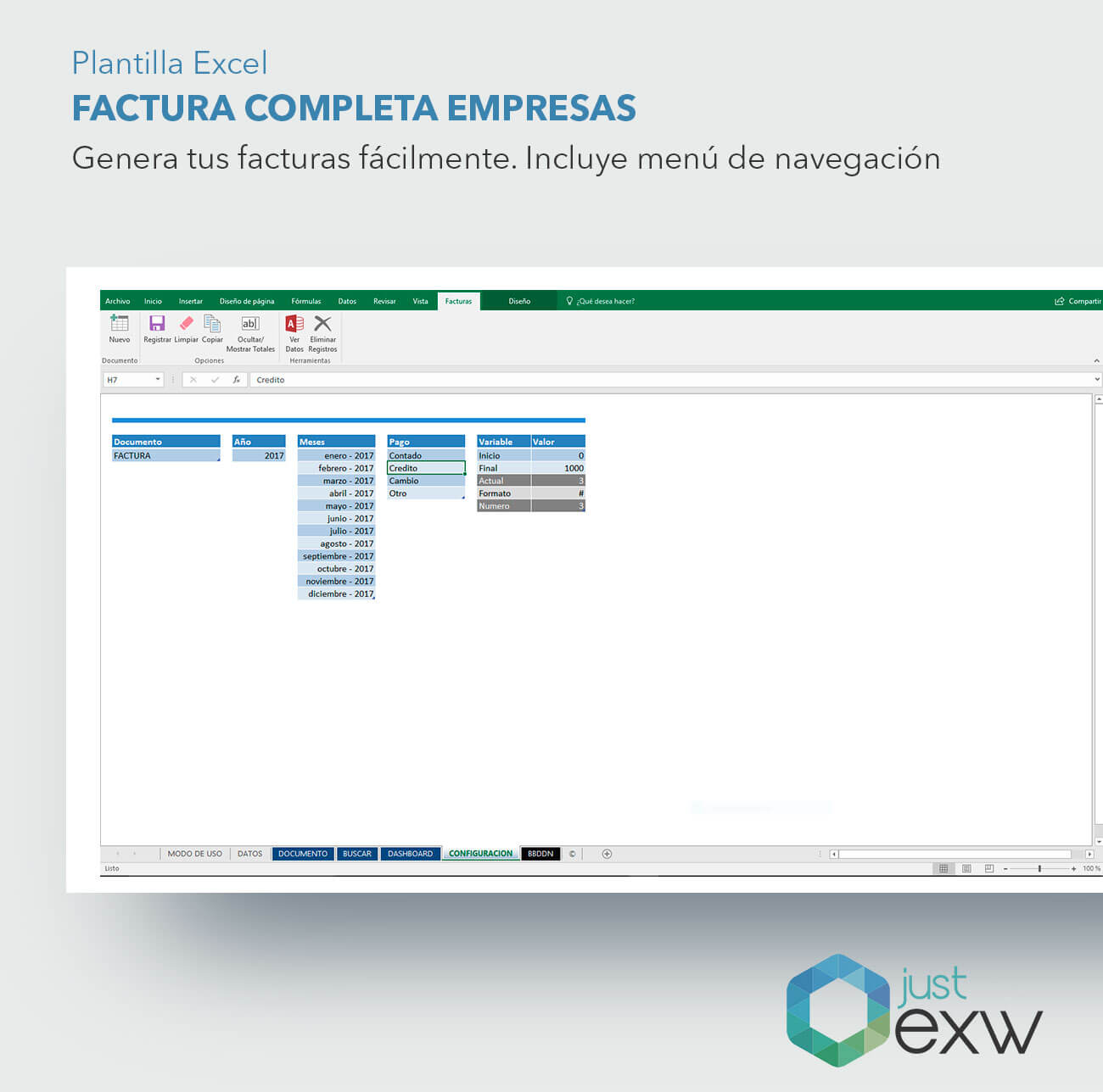 Atractivo Una Plantilla De Factura Patrón - Ejemplo De Colección De ...