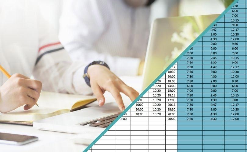 Plantilla de Excel gratis de control horario