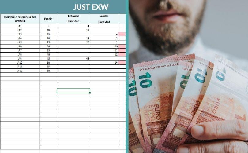 Plantilla en Excel para la gestión de las ventas