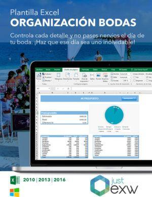 Plantilla de Excel para bodas