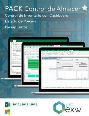 Plantillas de Excel para controlar el almacén