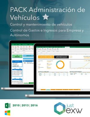 Plantilla de administración de vehículos