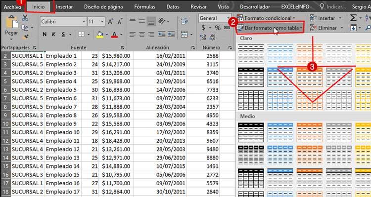Primer paso para actualizar hojas de Excel con VBA