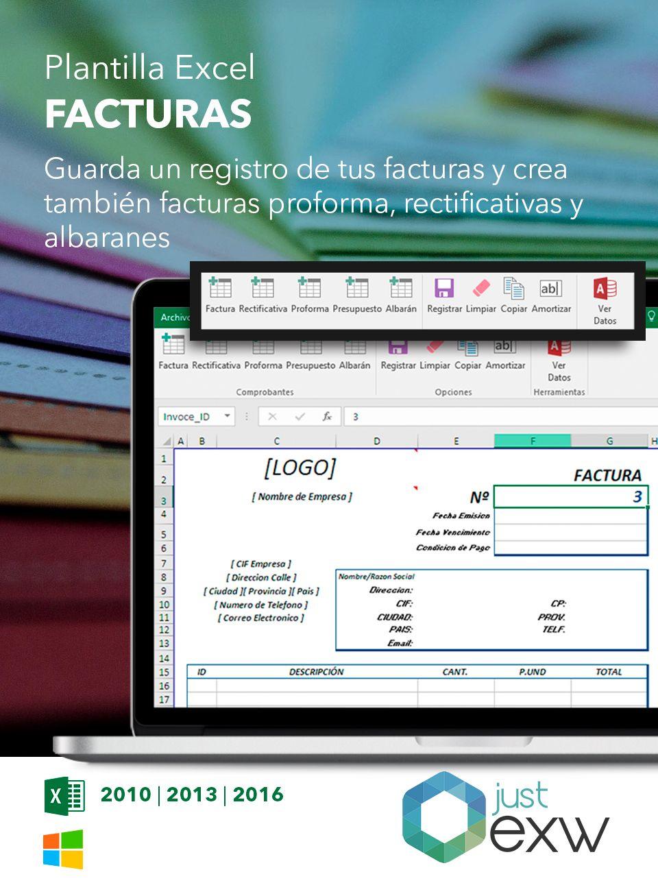 Plantilla de factura para Excel | Plantillas para descargar