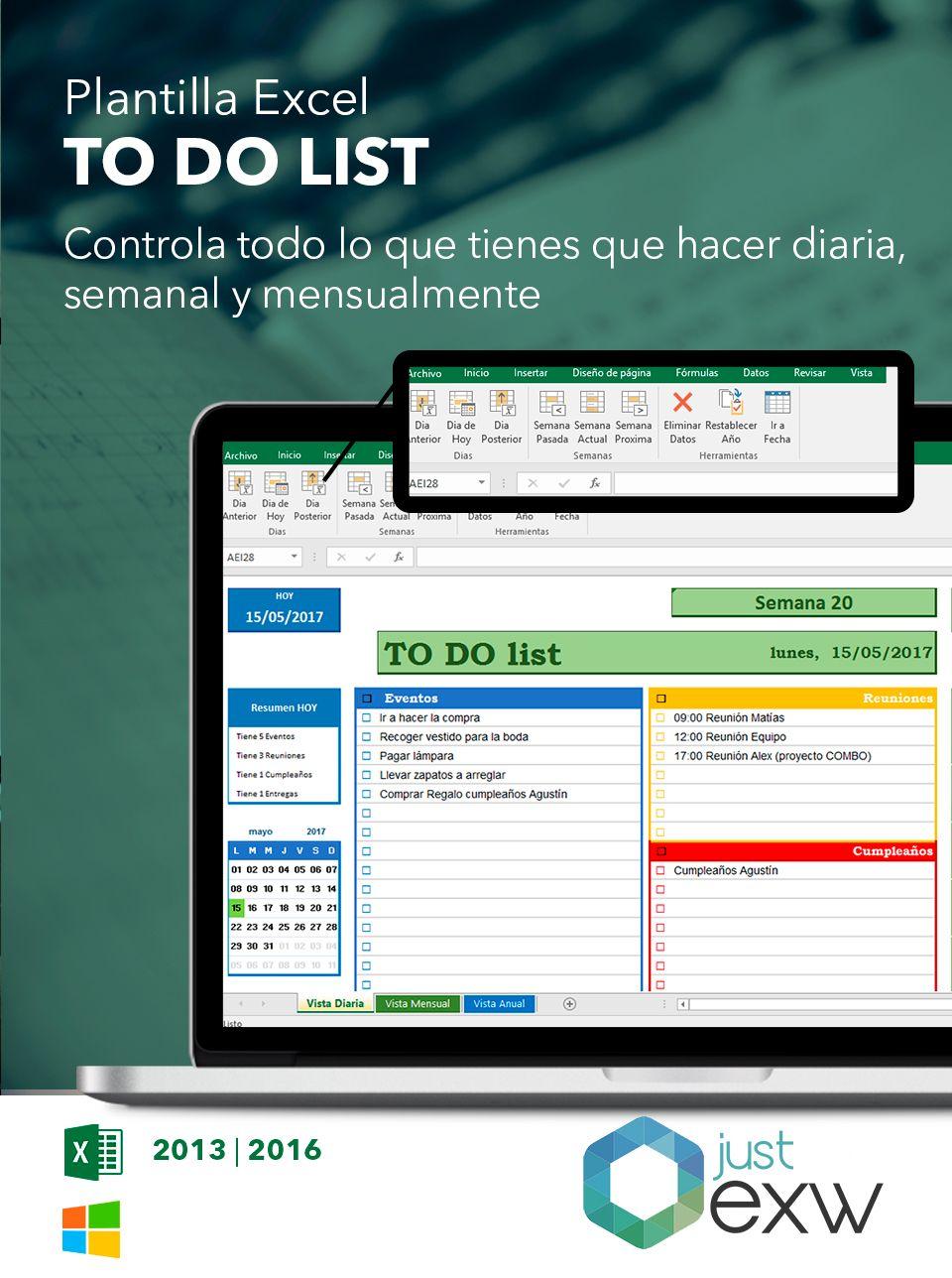 Plantilla Premium To do List | Just EXW