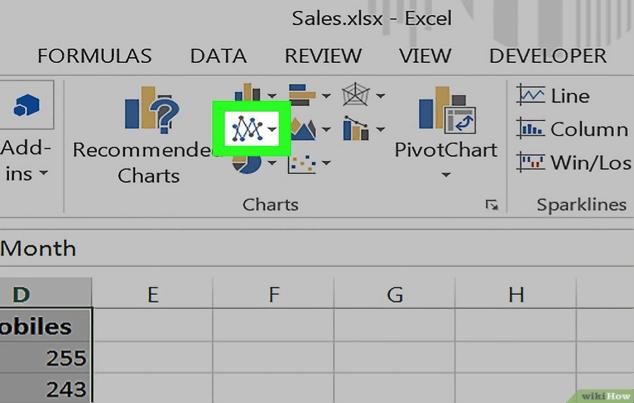 rango lineal en Excel