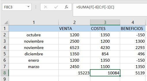Usar referencias de Excel FC