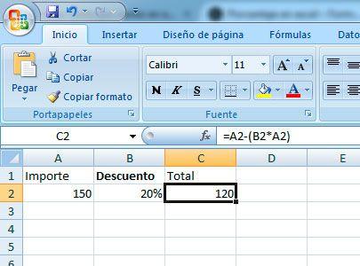 Cómo Restar Porcentajes En Excel Tutorial De Excel