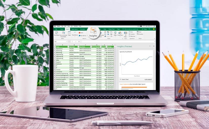 Nueva versión de Excel 2019
