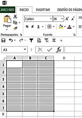 unir dos rangos en Excel