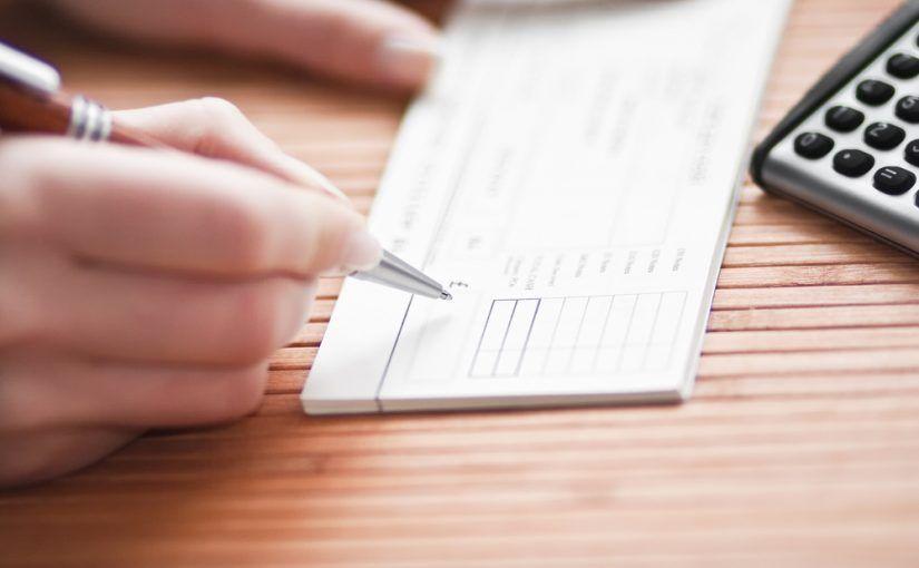 Plantilla de cheques en Excel