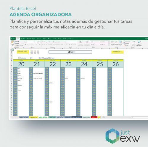 Planificar el tiempo con Excel